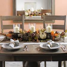 get easy thanksgiving table décor ideas thanksgiving table