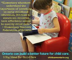 Childcare Meme - three ideas to build a better future for child care the ontario