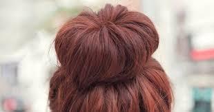 tutorial menata rambut panjang simple cara mengikat rambut model topknot yang bisa kamu coba kawaii