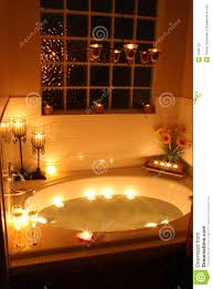 candlelight bath stock photography image 1946122