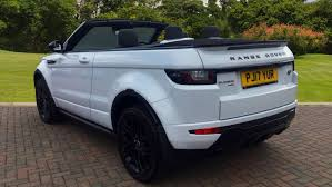 evoque land rover convertible used land rover range rover evoque convertible 2 0 td4 hse dynamic