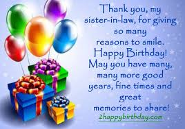 doc 439633 birthday greetings for sister in law u2013 top 30 happy