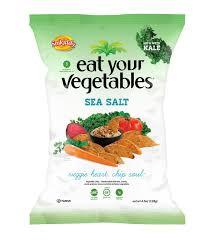 amazon com eat your vegetables sea salt veggie chips 4 5 ounce
