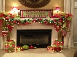 amazing fireplace mantel christmas decorating ideas photos pics