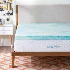 queen mattress toppers u0026 pads bedding the home depot