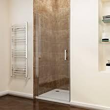 Shower Door Screen 700mm Frameless Pivot Shower Door Enclosure Glass Reversible
