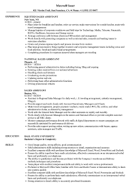 resume exles for assistant sales assistant resume sles velvet