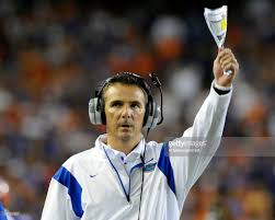 urban meyer halloween mask lsu v florida photos and images getty images