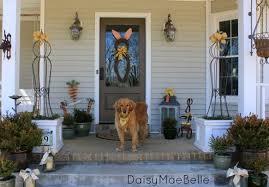 easter front porch daisymaebelle daisymaebelle
