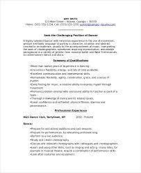 skills resume template 2 resume templates 4 exles 2 free sle dancer template