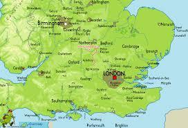 London On Map Buckinghamshire Way