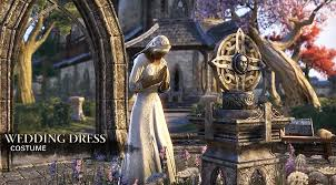 wedding dress skyrim screenshots new eso costumes mounts pets skyrim fansite