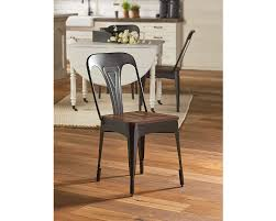 metal cafe side chair magnolia home