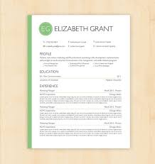 template cv word modern modern marketing resume template cv the elizabeth grant by phdpress