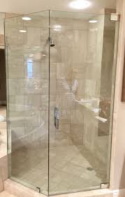 Corner Shower Glass Doors Frameless Shower Doors Builders Glass Of Bonita Inc