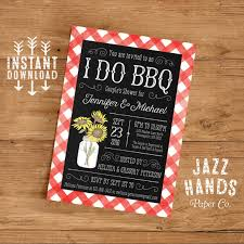 Couple S Shower Invitations I Do Bbq Couples Shower Invitation Template By Jazzhandspaperco