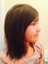 ladies hairstyles for medium length hair little girls haircut hair by heather pinterest