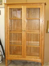 cherry curio cabinet finewoodworking