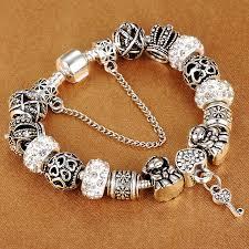 charm bracelet enigma glass charm bracelet sweet corner