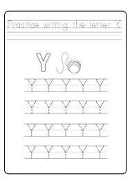 uppercase letter y worksheets free printable preschool and