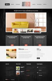 website design 40779 artdeco interior design custom website