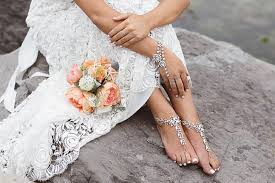 barefoot sandals for wedding 30 barefoot wedding sandals for brides bridesmaids