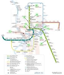 bangkok map tourist attractions the skytrain and metro of bangkok the bts of bangkok