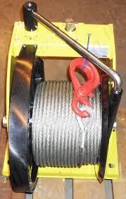 yale mww worm gear wire winch range from 250kg to 5000kg