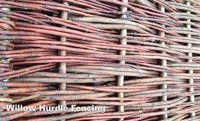 willow hurdle screening panels clarkes of walsham