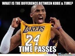 Kobe Memes - kobe vs time by dacookiemonster meme center
