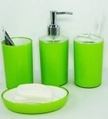 Acrylic Bathroom Accessories Bathroom Accessories Green Interior Design