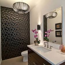 Feature Wall Bathroom Ideas This Feature Wall And Lighting Bathrooms Pinterest