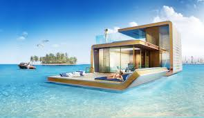 dubai s floating seahorse homes business insider above the water s surface the luxury is more apparent