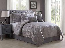Damask Comforter Sets Jacquard Comforter Ebay
