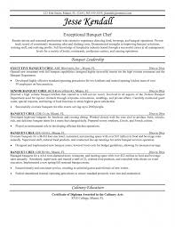 Culinary Resume Examples by Resume Samples For Cooks Resume Template Free