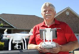Home Inspector by Local Home Inspector Uses Drone Technology To Zone In On Property