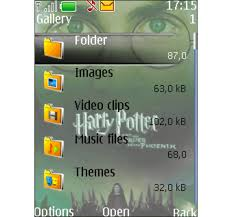 theme maker java mobile9 harry potter theme for java download
