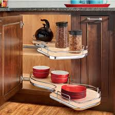 The Cloud Double Tier Blind Corner Cabinet Organizer By RevA - Corner cabinet for rv