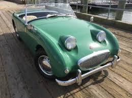 austin healey bugeye sprite paint colors