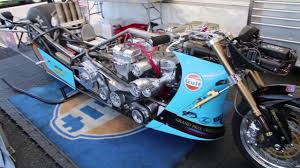 gulf racing motorcycle king racing top fuel bike rus youtube
