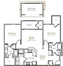 sunroom floor plans alta fossil creek apartments 3600 basswood boulevard fort worth