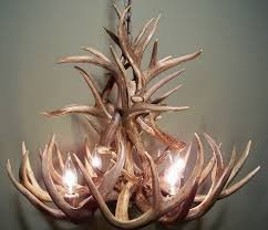 Handmade Chandelier by Amazon Com Real Whitetail Deer Antler Chandelier 4 Lights Shed