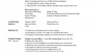 subway resume resume job retail description picture examples