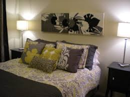 bedroom gray and yellow bedroom decor gray and yellow bedroom