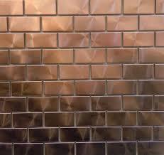 Copper Backsplash Tiles For Kitchen Backsplash Ideas Stunning Copper Tiles For Backsplash Metal