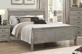 Grey Sleigh Bed Grey Sleigh Bed Frame Mattress And Boxspring Kassa Mall Home
