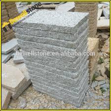 Granite Patio Pavers 3cm Thick Grey Granite Patio Cobblestone Pavers Buy