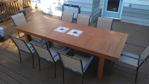 Cedar Dining Room Table Cedar Patio Table Plans Home Design Ideas And Pictures