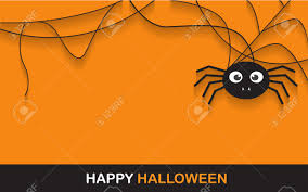 halloween party clipart halloween spider concept banner background for halloween party