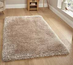 Shaggy Cream Rug Shaggy Rugs Thick Fluffy Shagpile Rugs Free Uk Delivery